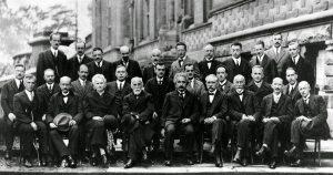Conferenza-Solvay-foto -di -gruppo